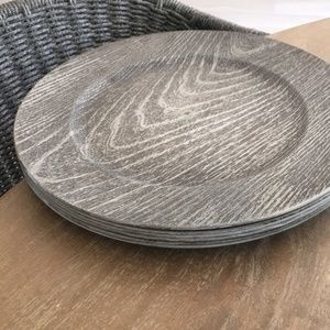 Other - Gray Wood looking Chargers